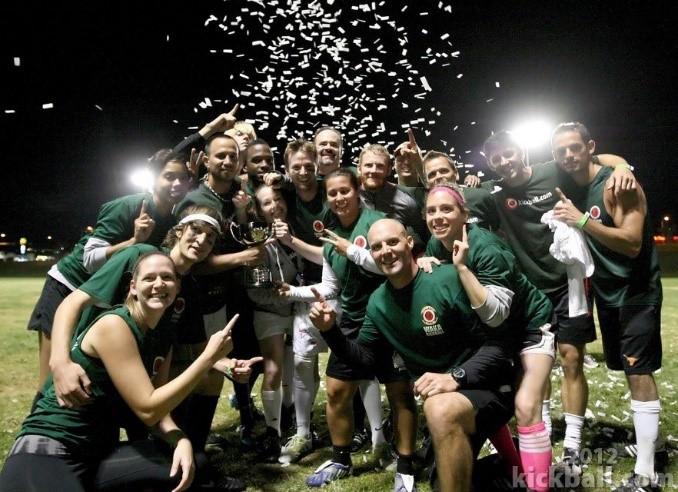 2012 World Champions of Kickball